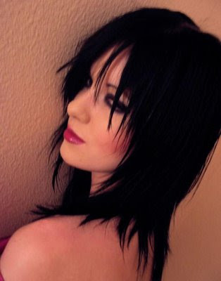 gothic hairstyles for girls. goth hairstyles for girls.