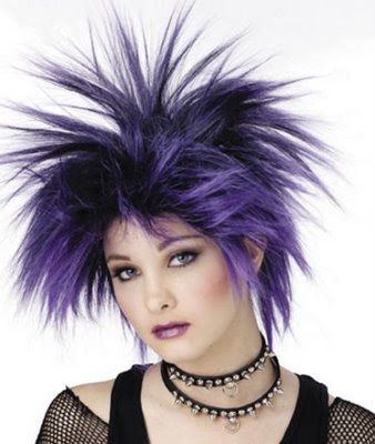 D.Emo Punk Hairstyles Women