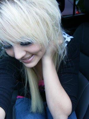 C.Blonde Emo Hairstyles