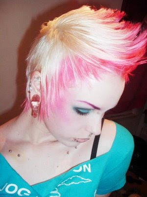 Short Emo Punk Hairstyles.C