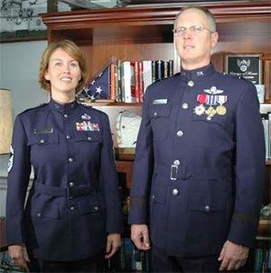 Always Vigilant Usaf New Class A Uniform