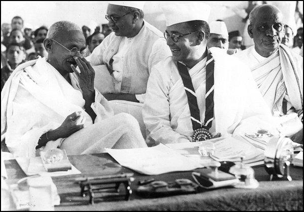 Gandhi, Bose & Patel
