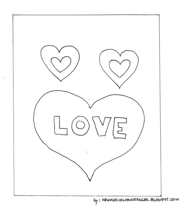 Fun Valentines Day Coloring pages for kids · Valentine Coloring Pages of
