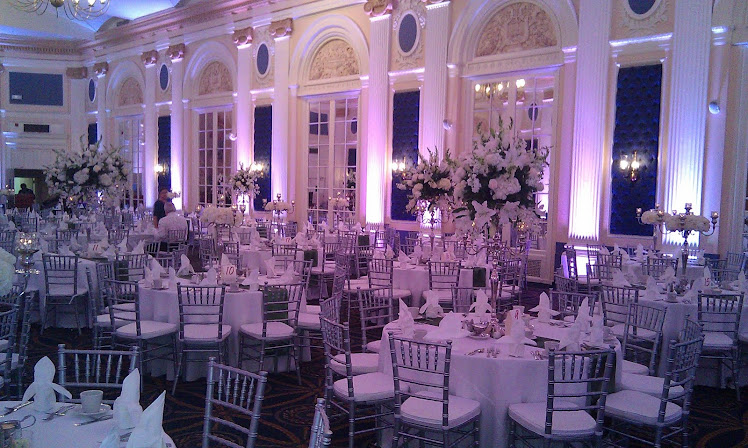 Chiavari chairs at Perre Marquette