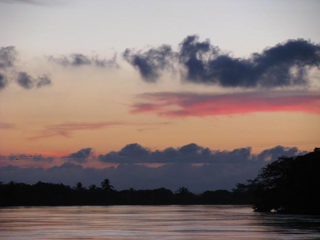 El Río Sinú en Lorica un espectáculo