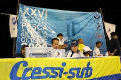 Mesa Técnica 26 Campeonato Mundial de Pesca Submarina Venezuela 2008
