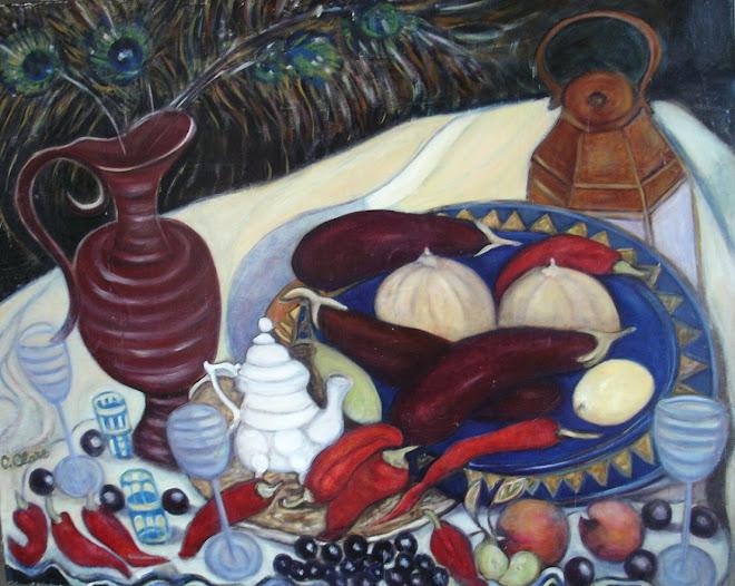 Aubergines et piments d'Espelette 2009
