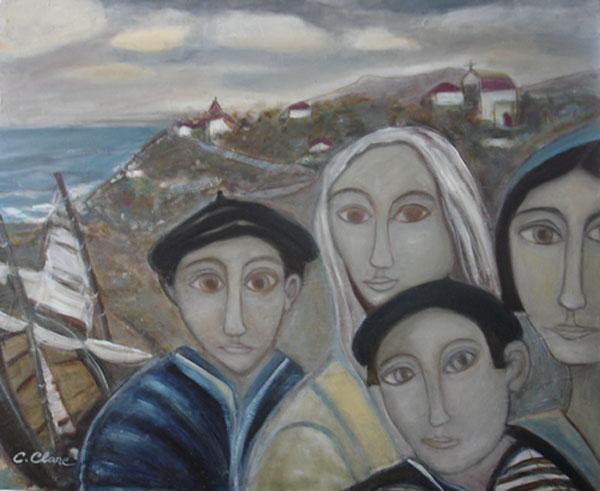 Famille de pêcheurs  2007