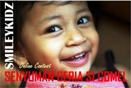 Online Contest - SENYUMAN CERIA SI COMEL !!