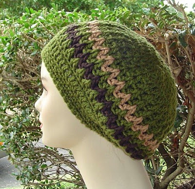 CROCHET HAT PATTERN RASTA - Crochet — Learn How to Crochet