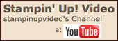 Stampin&#39; Up! U Tube Video Channel