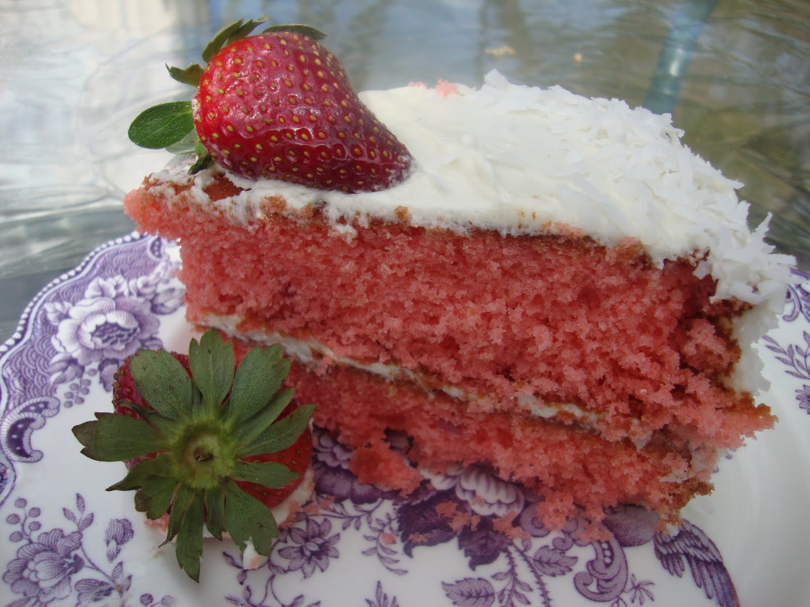 Baking and Creating with Avril: Southern Style Strawberry Cake
