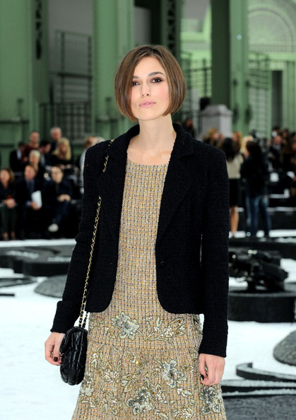 Keira Knightley Has Short New Bob Haircut