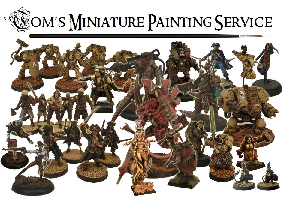 Tom's Miniature Painting Service