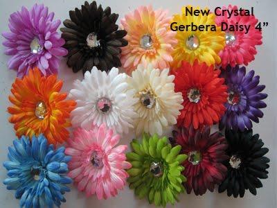 Gerber Daisey Flower Chart