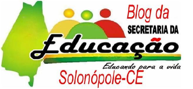 BLOG DA EDUCAÇÃO DE SOLONÓPOLE