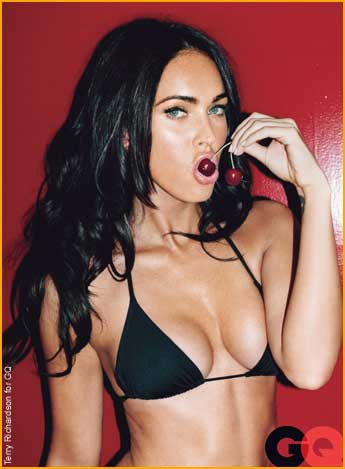 Megan Fox in 2010 - plastic surgery nightmare?