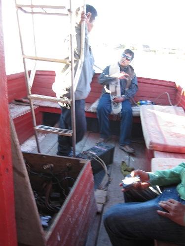 Batterie leer1 Titicacasee