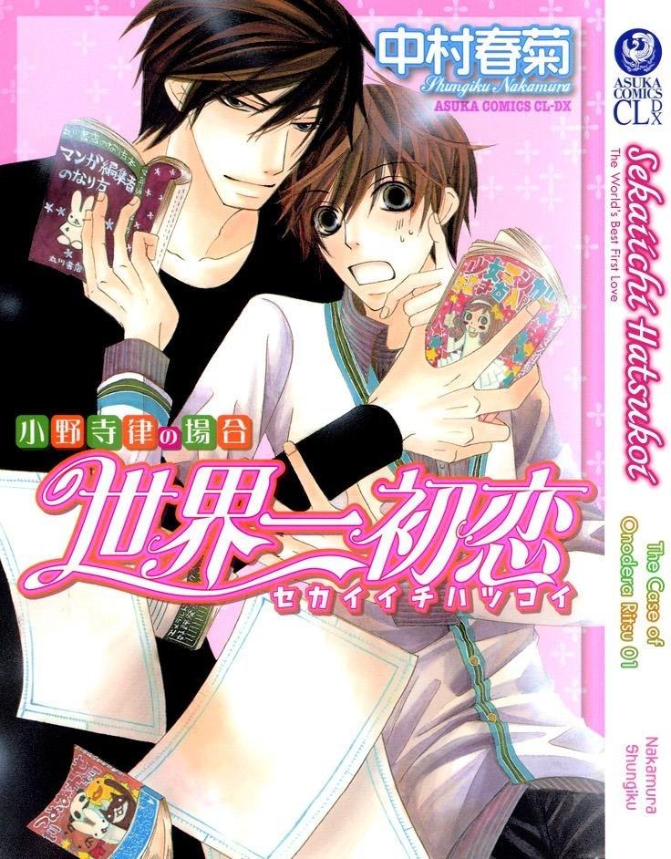 Himitsu Yaoi: Sekaiichi Hatsukoi [Manga]