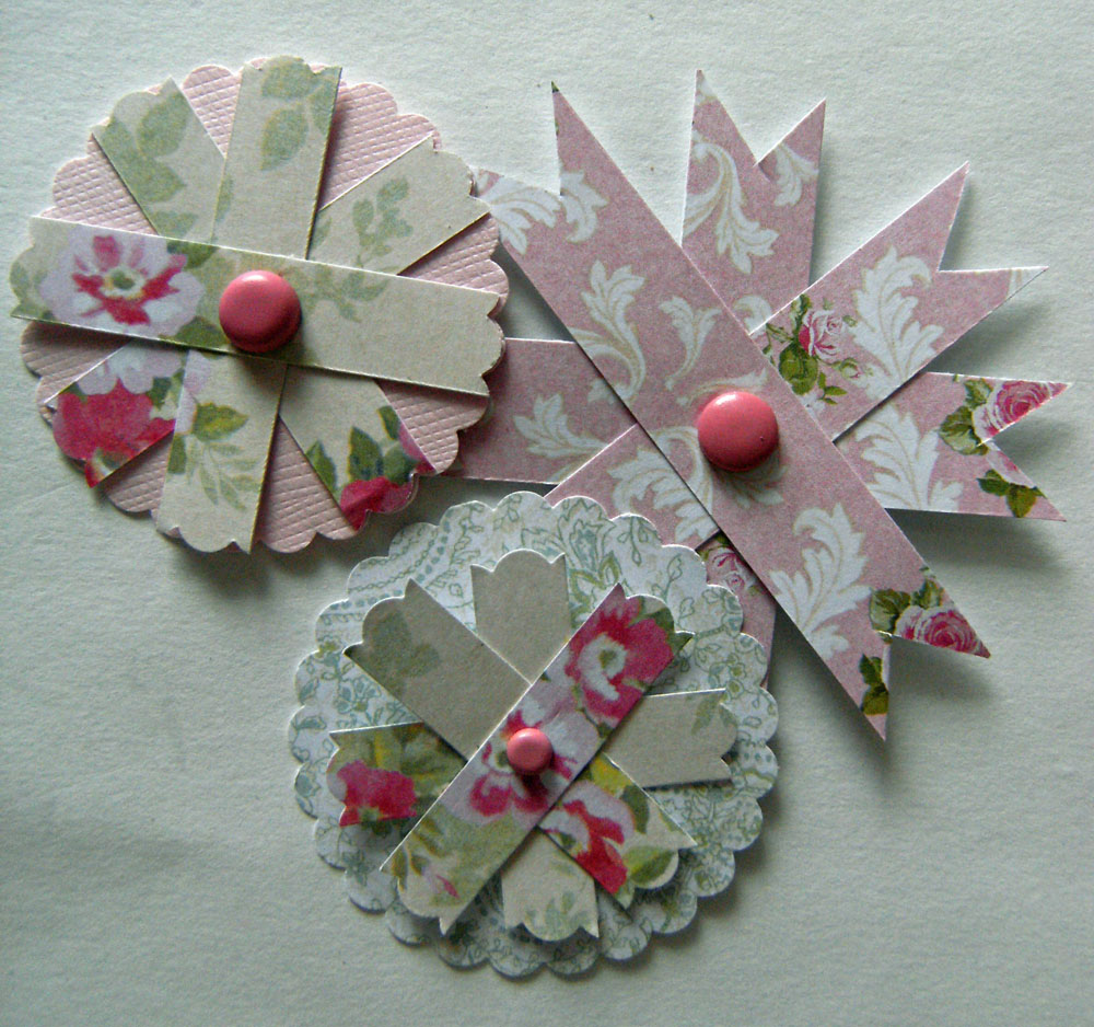Lizzie Made Paper Flower Tutorial Part 2 Flowers From Paper Strips