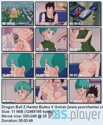 dragonball bulma hentai