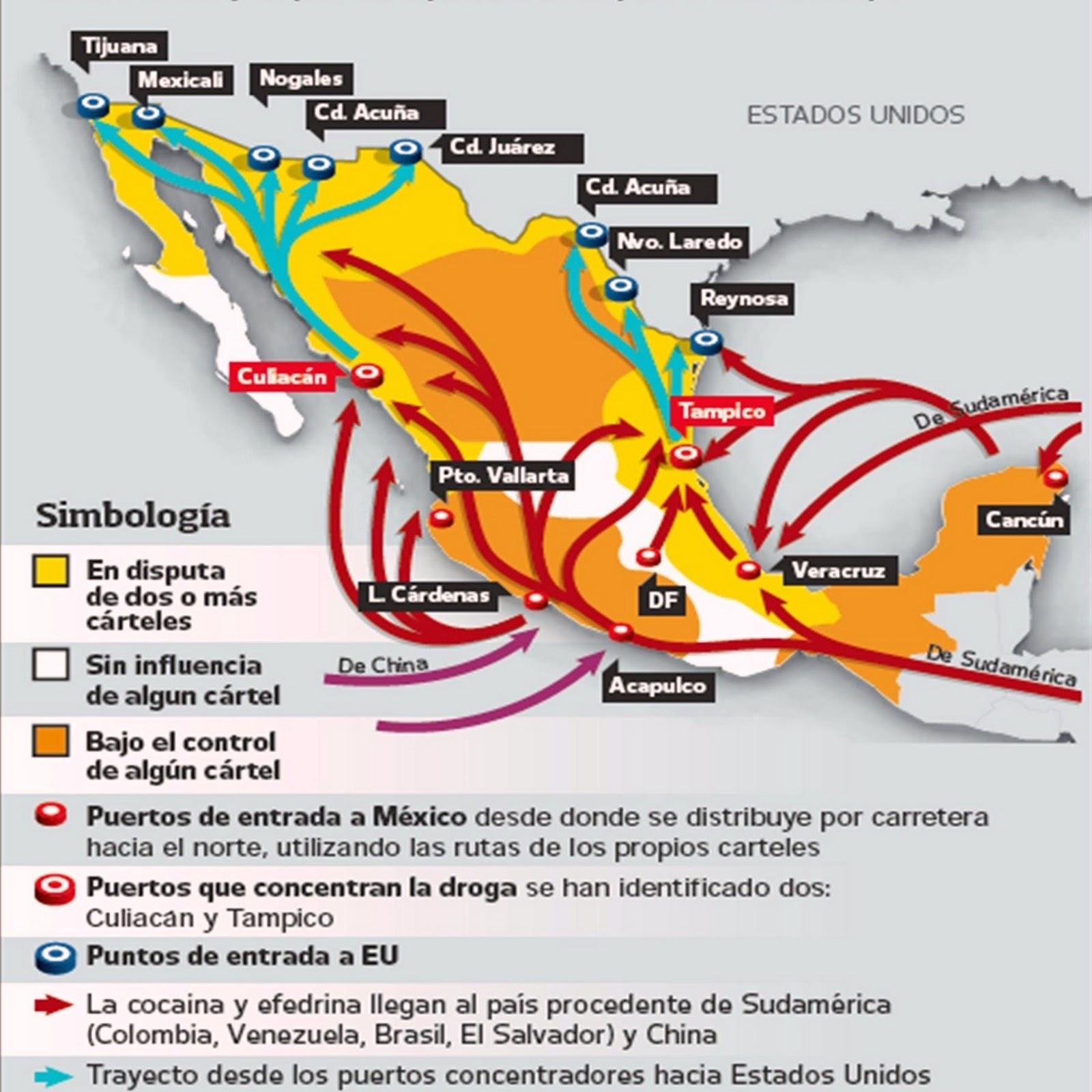 traficante de México afirma que fue informante de la DEA La+ruta+del+narcotrafico