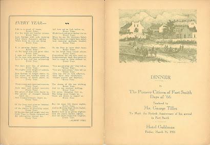 Banquet for George Tilles