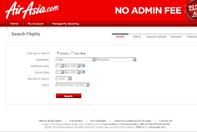 AirAsia Online Booking - Air Asia Tickets Booking