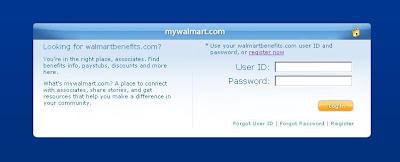 My walmart benefits online