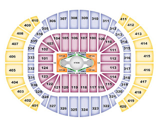 American Airlines Arena Seating Chart