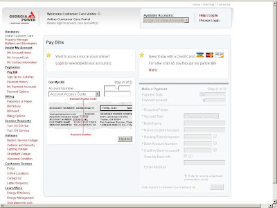 www.GeorgiaPower.com Login to Bill Pay - GA Power Bill Matrix