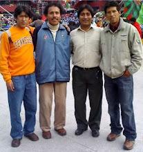 Maestro Pedro Robles (Ancash) y Ruben Romani (Ayacucho)