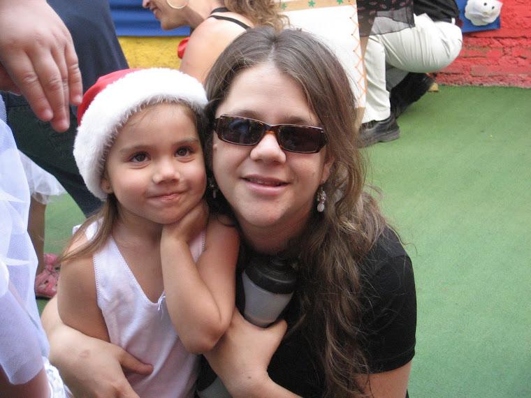 Rafaela y su mami