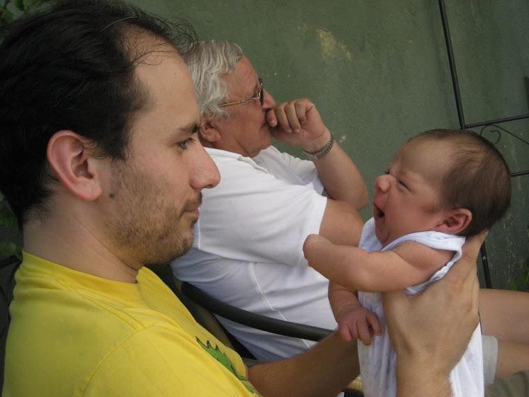 Santigo y su papi