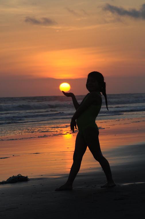 La Gabi y el sol