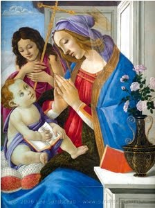 BOTTICELLI Virgin and Child