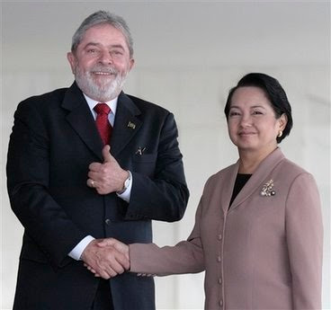 Sad lack of coverage of Arroyo's Brazil trip