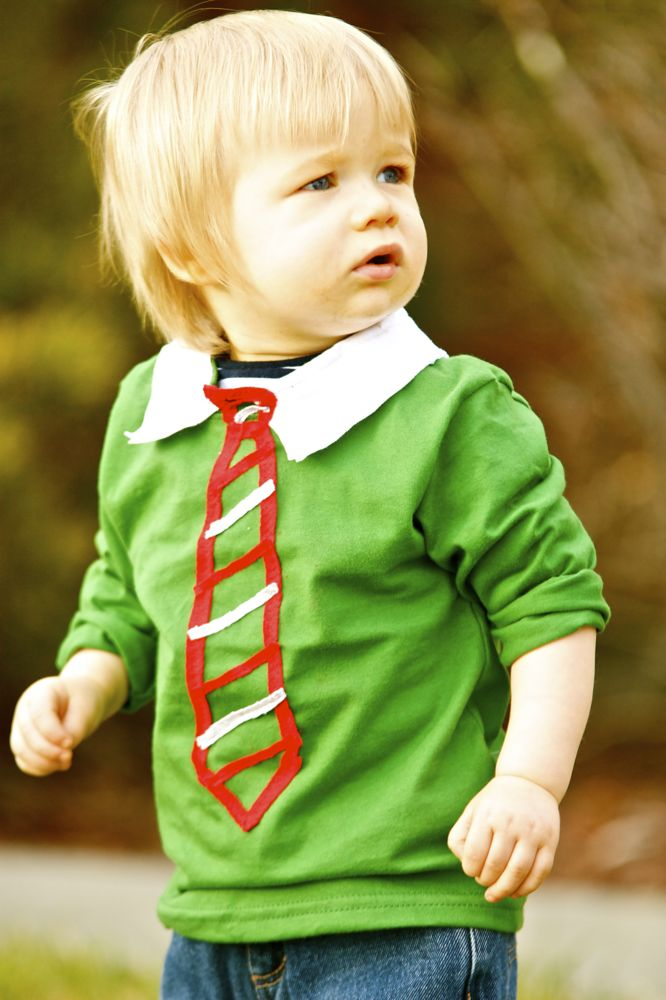 tie5 Ties on Infant Boy Clothes