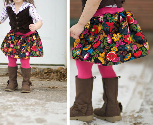 beautiful skirt for girls
