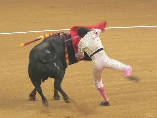 Millán matando en la Concurso de Zaragoza