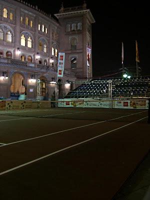 El circo de la Copa Davis en Las Ventas