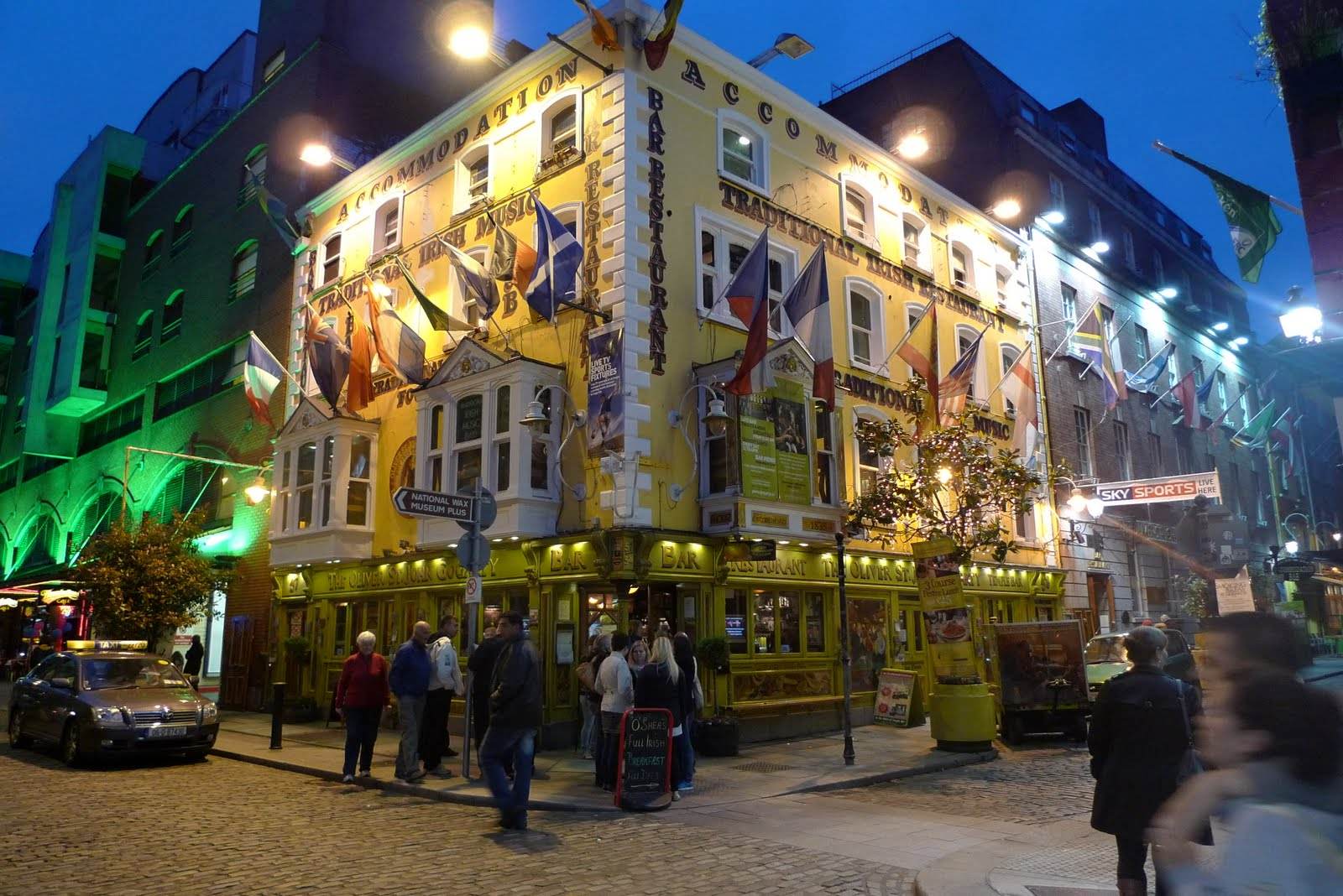 Bad Ass Cafe Dublin - The best music & food in Temple