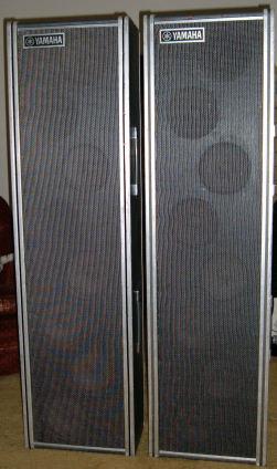 Yamaha PA columns