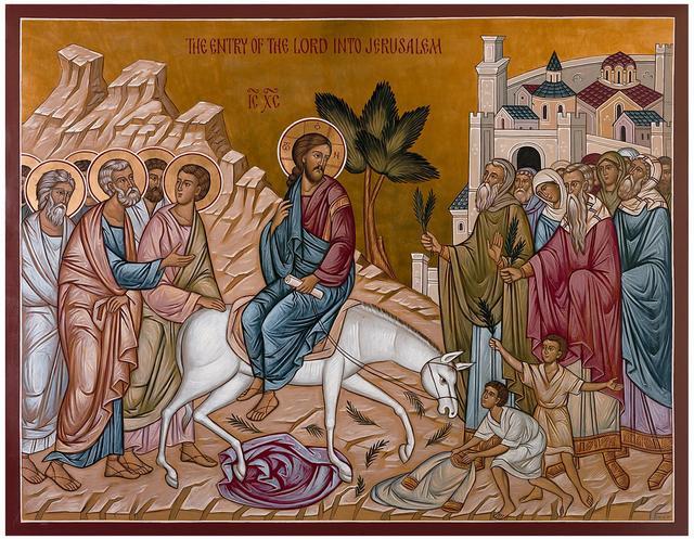 Domenica delle Palme dans immagini sacre