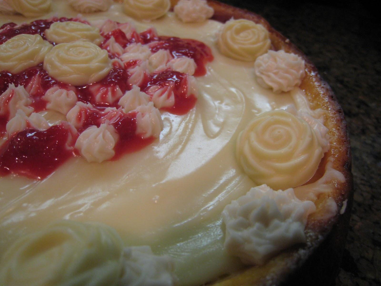 Spirals & Spatulas: Raspberry Swirl Cheesecake