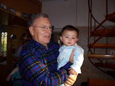 με τον εγγονό μου
