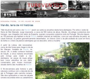 Café Portugal - PASSEIO DE JORNALISTAS em Marvão - Tureventos