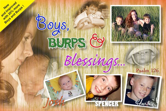Boys, Burps and Blessings