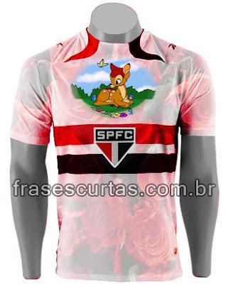 Nova Camisa dos Bambis - Tricolor - São Paulo