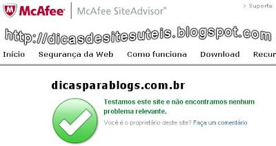 sites confiaveis e seguros